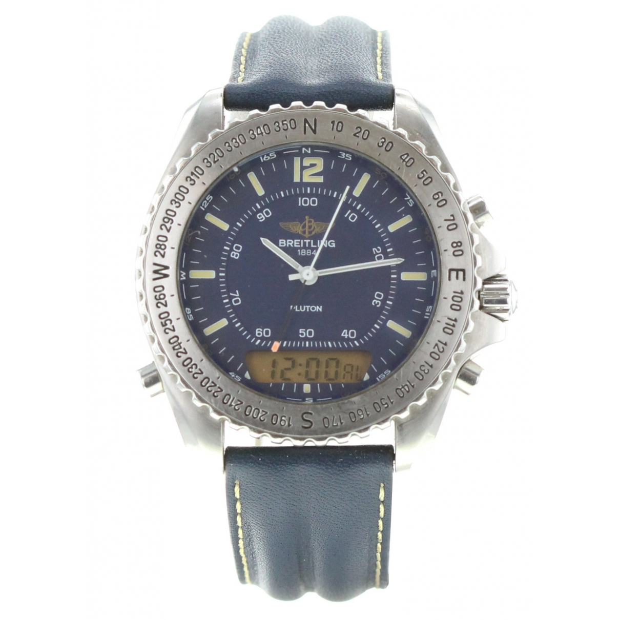 Breitling \N Khaki Steel watch for Men \N