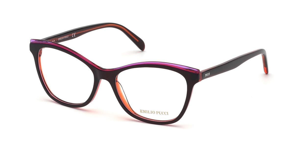 Emilio Pucci EP5098 071 Women's Glasses  Size 54 - Free Lenses - HSA/FSA Insurance - Blue Light Block Available