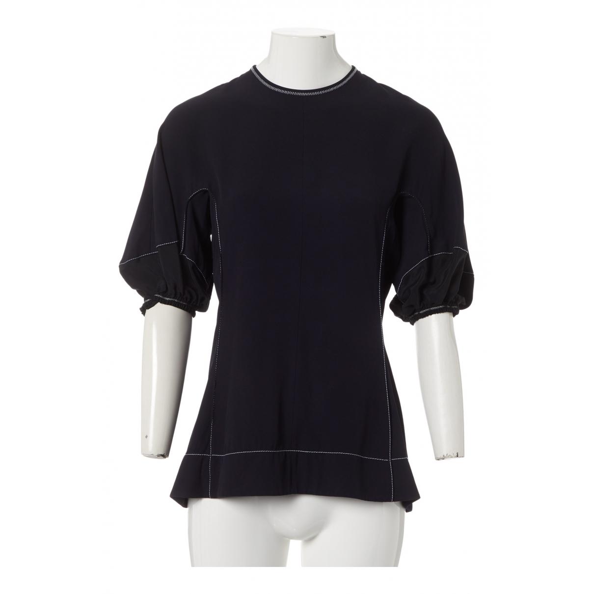 Marni - Top   pour femme - marine