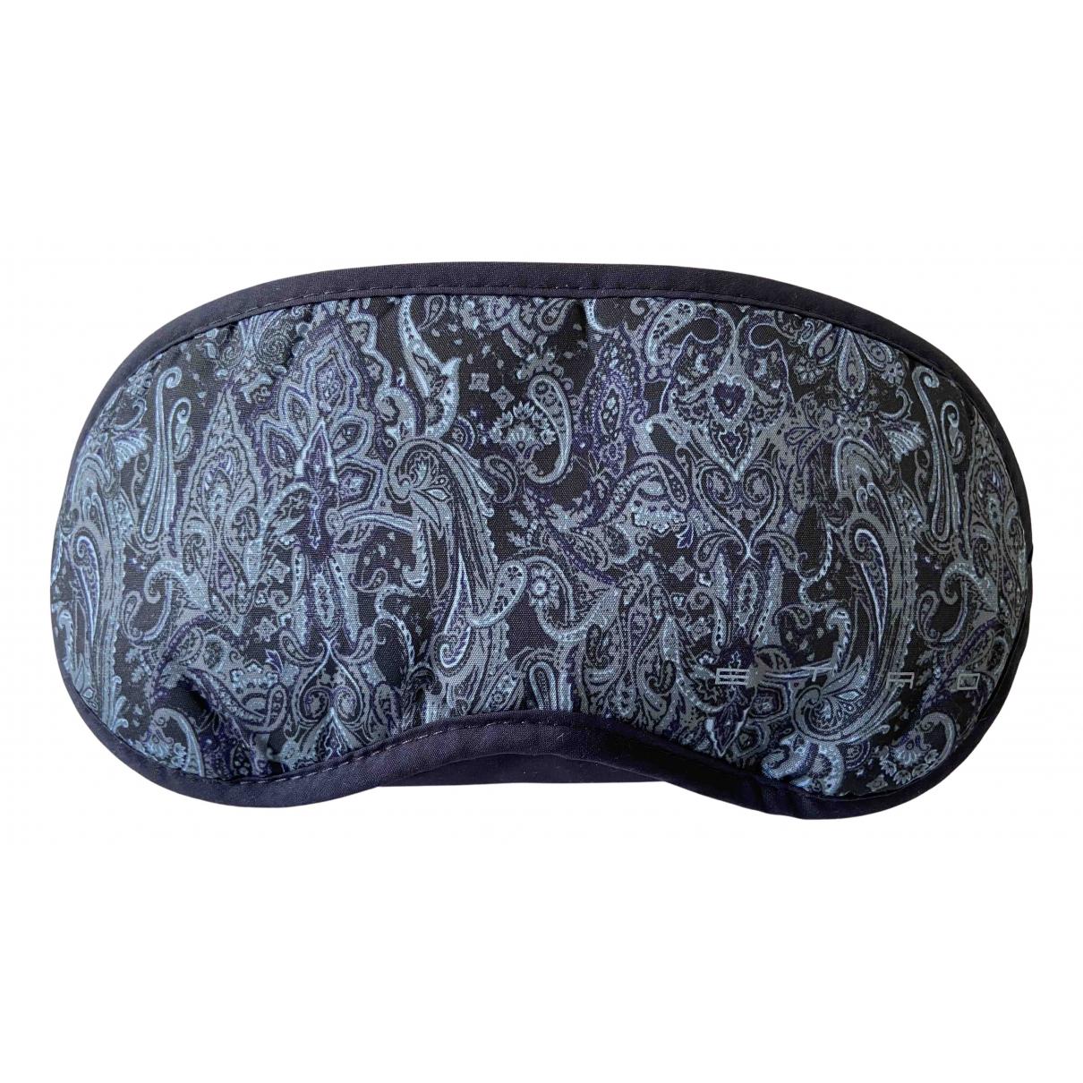 Etro - Chapeau & Bonnets   pour homme en coton - bleu