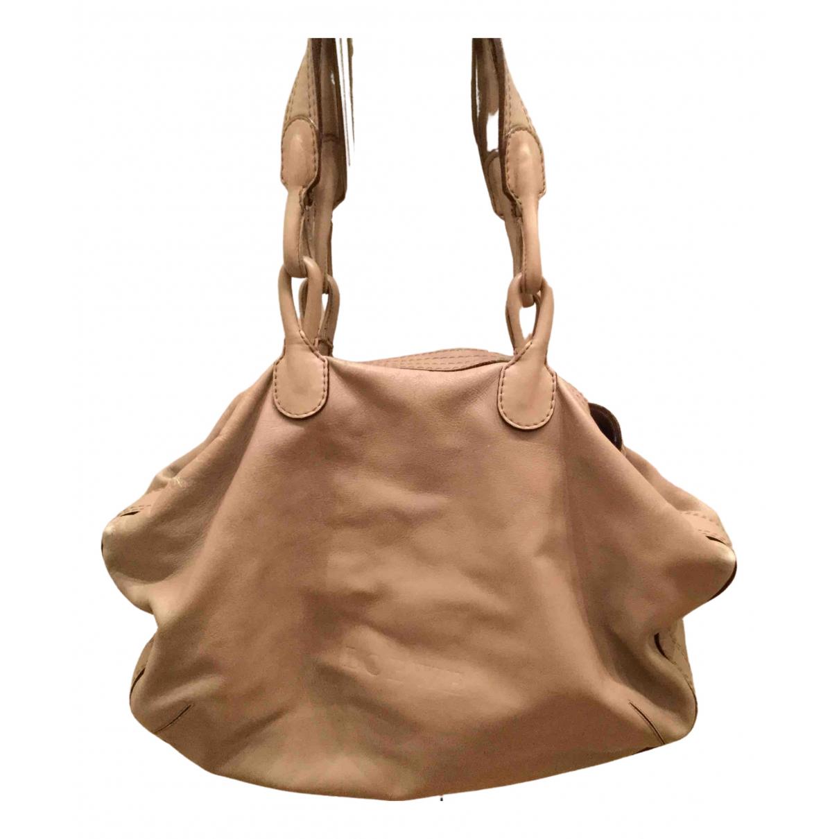 Loewe N Beige Leather handbag for Women N