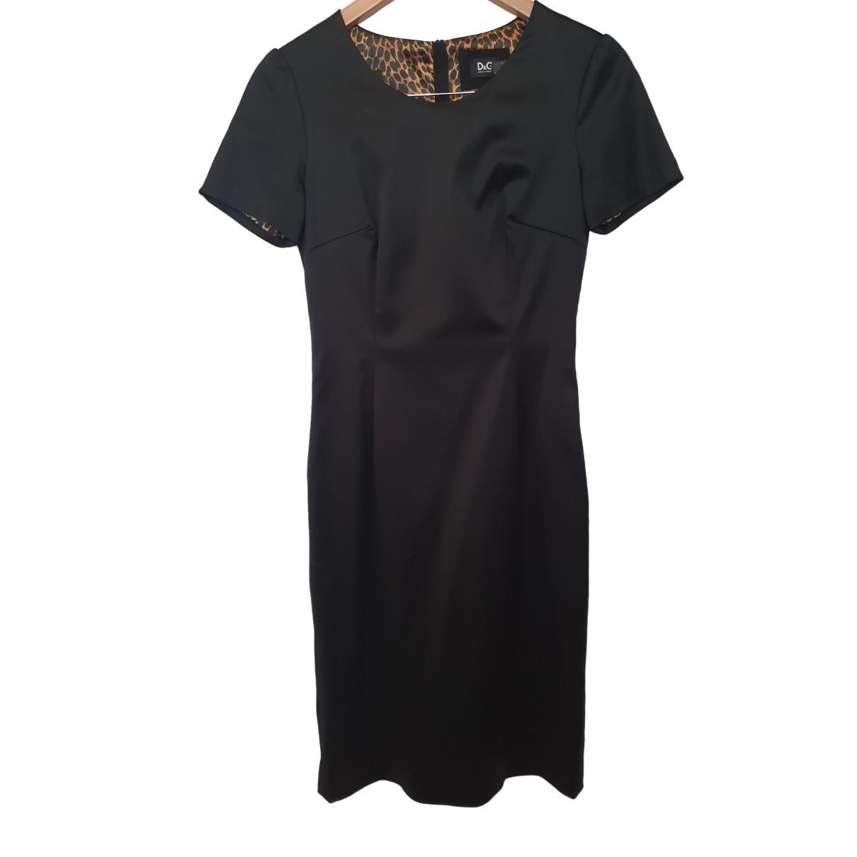D&g - Robe   pour femme en soie - noir