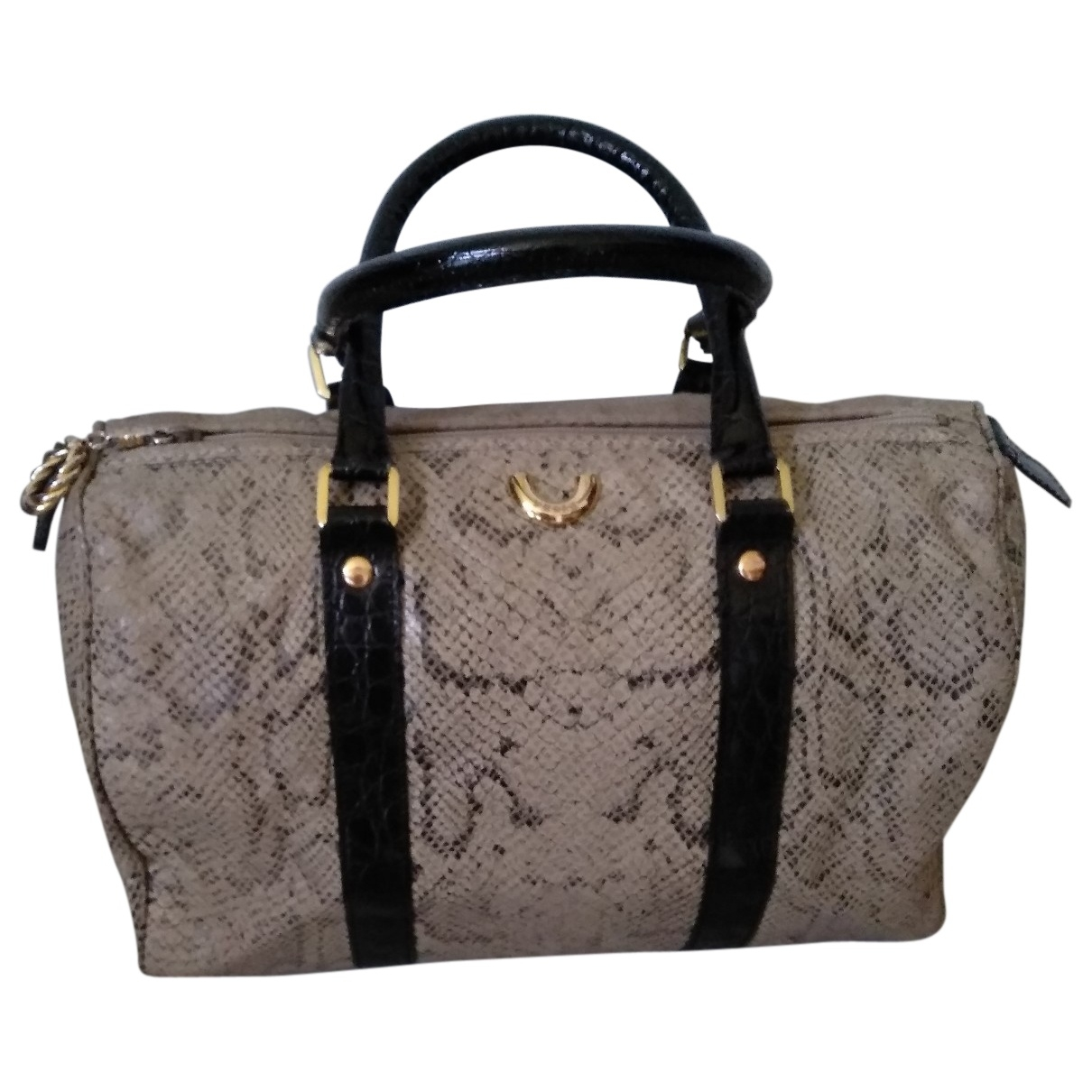 Gianfranco Ferré \N Beige Leather handbag for Women \N