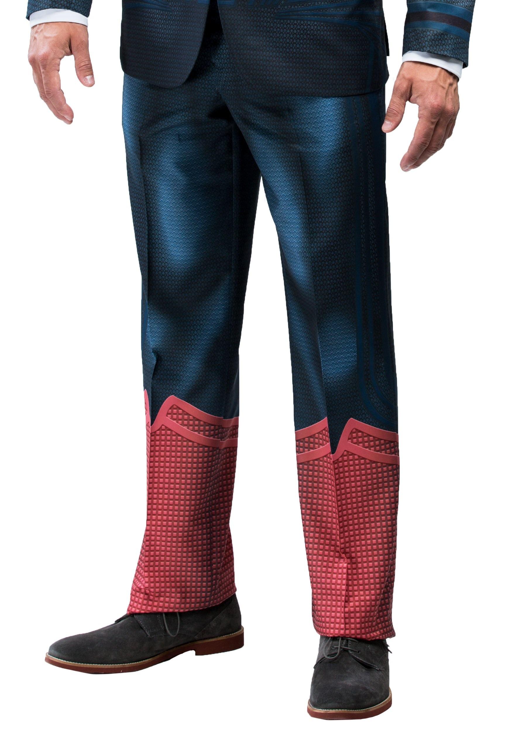 Alter Ego Superman Slim Fit Suit Pants