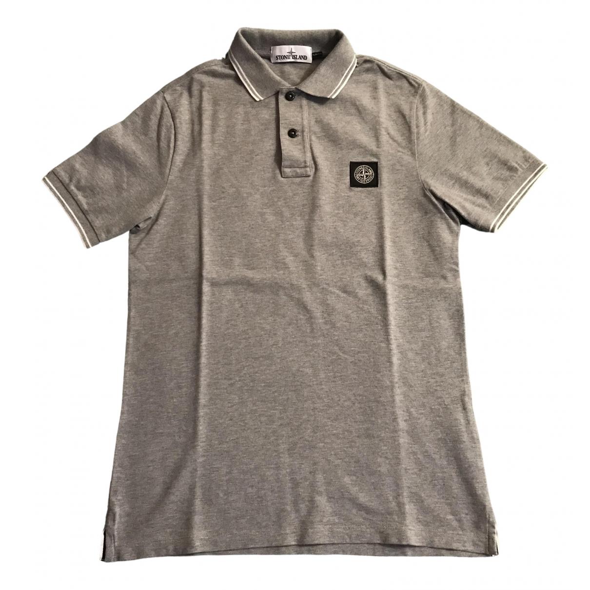 Stone Island \N Grey Cotton Polo shirts for Men S International