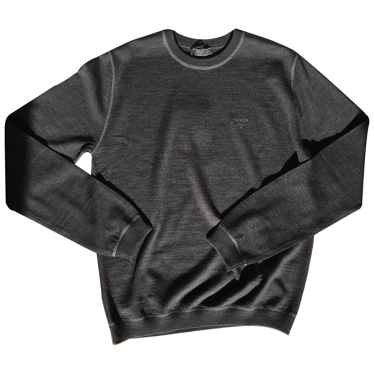 Prada - Pulls.Gilets.Sweats   pour homme en laine - gris
