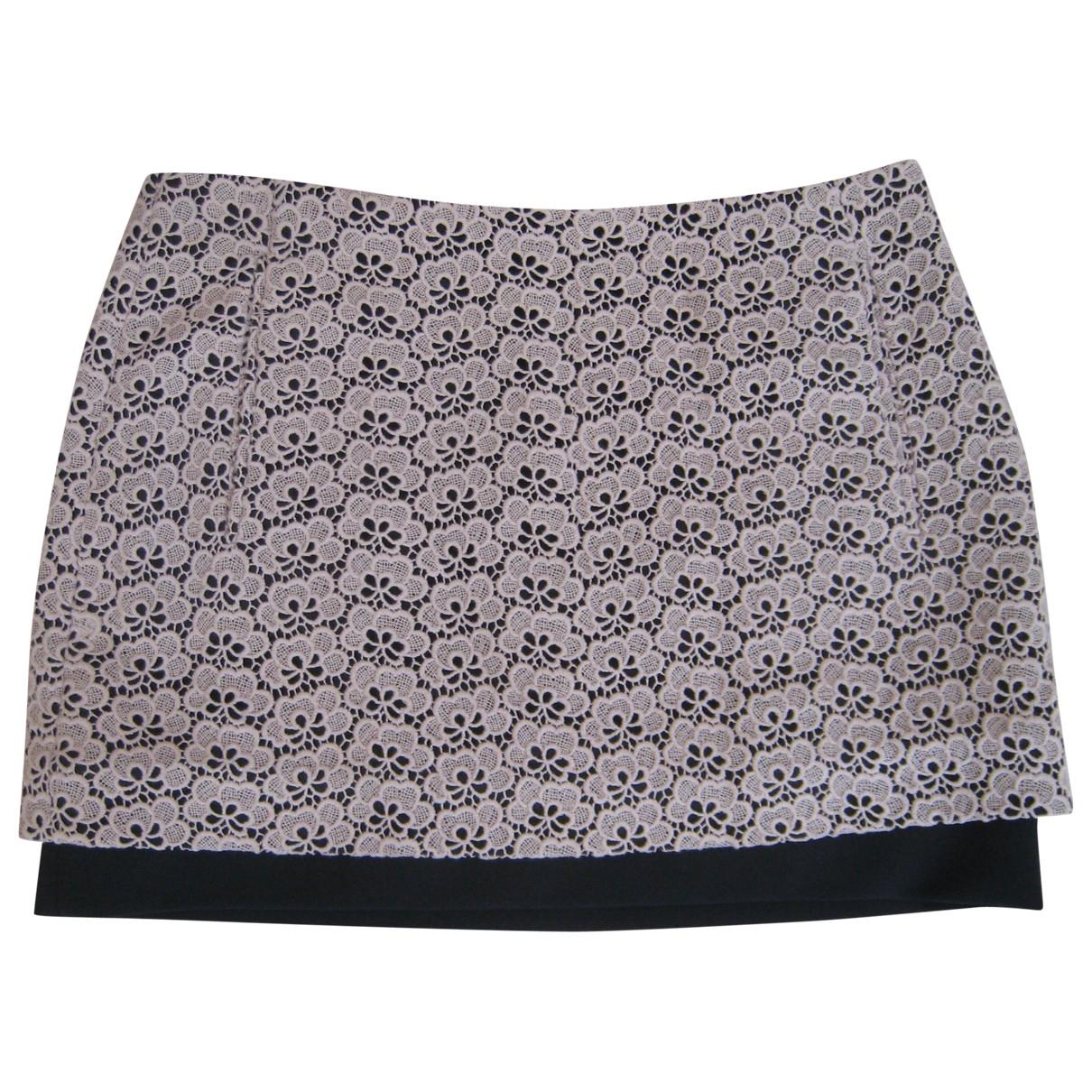 Diane Von Furstenberg \N Beige Cotton skirt for Women 4 US