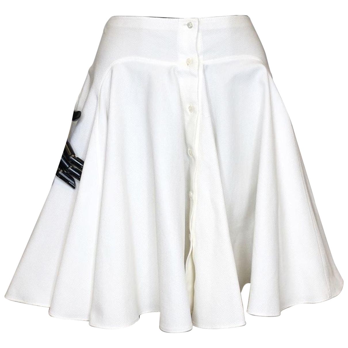 Alaia - Jupe   pour femme en coton - blanc