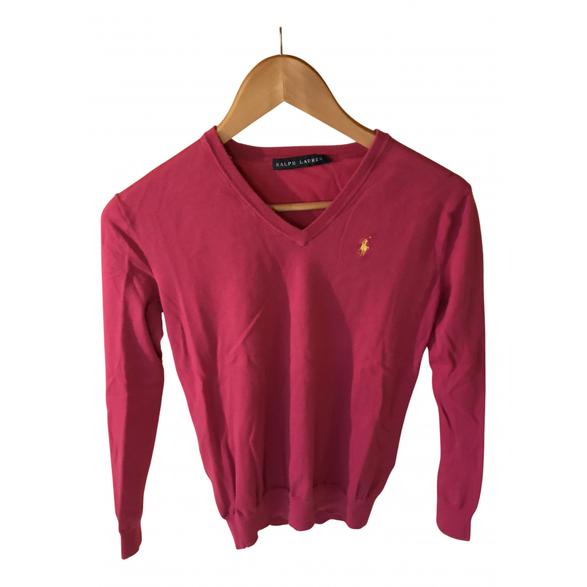 Ralph Lauren - Pull   pour femme en coton - rose