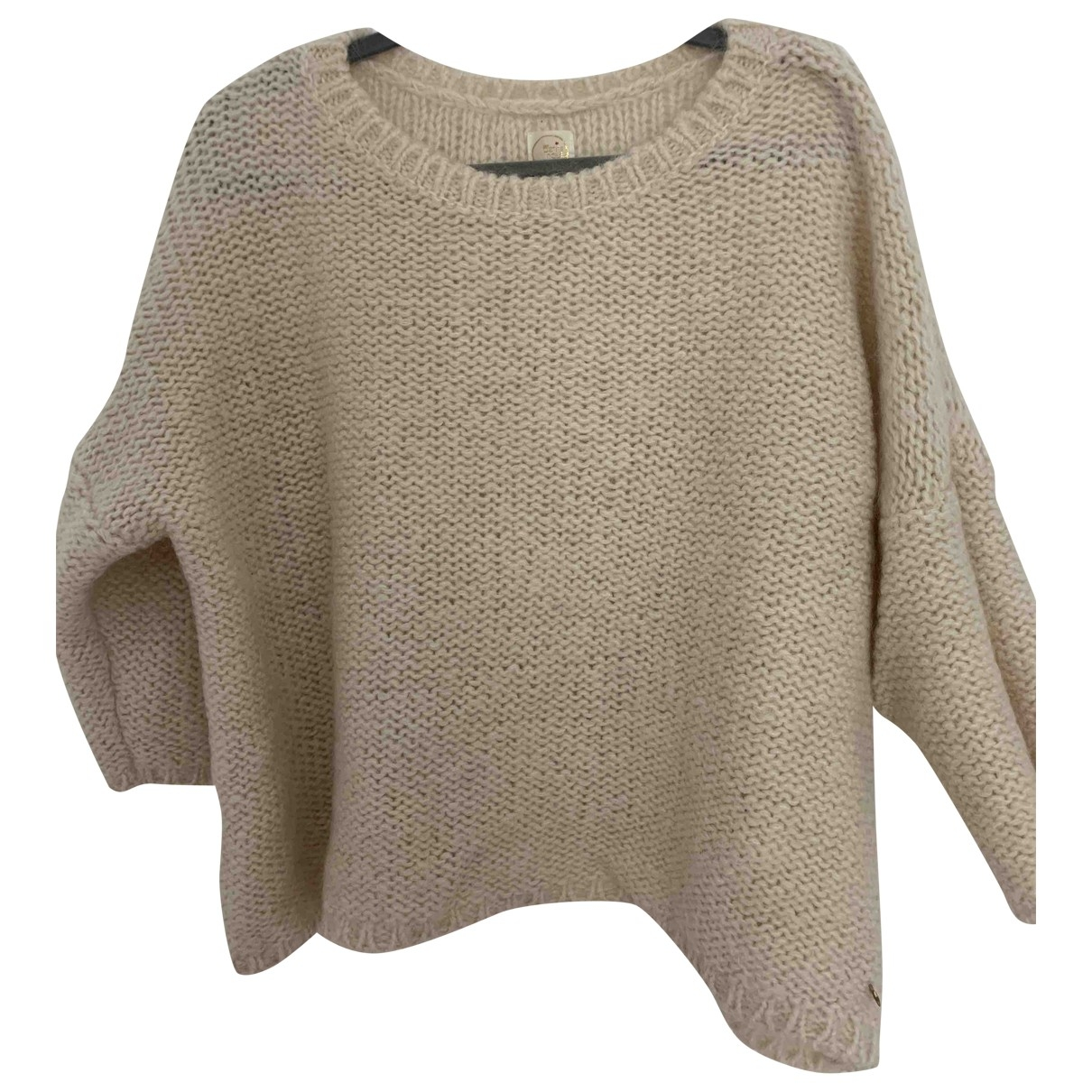 Des Petits Hauts \N Pullover in  Beige Wolle