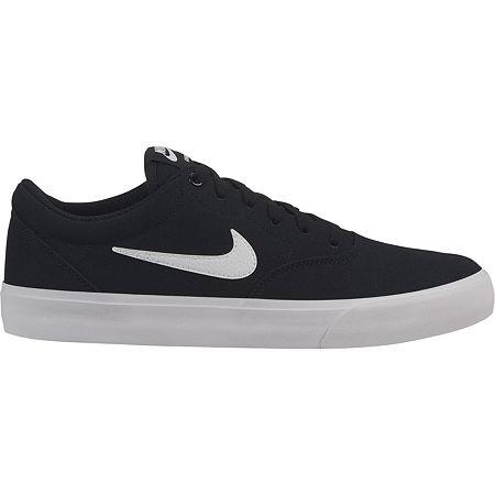 Nike Charge Mens Lace-up Skate Shoes, 13 Medium, Black
