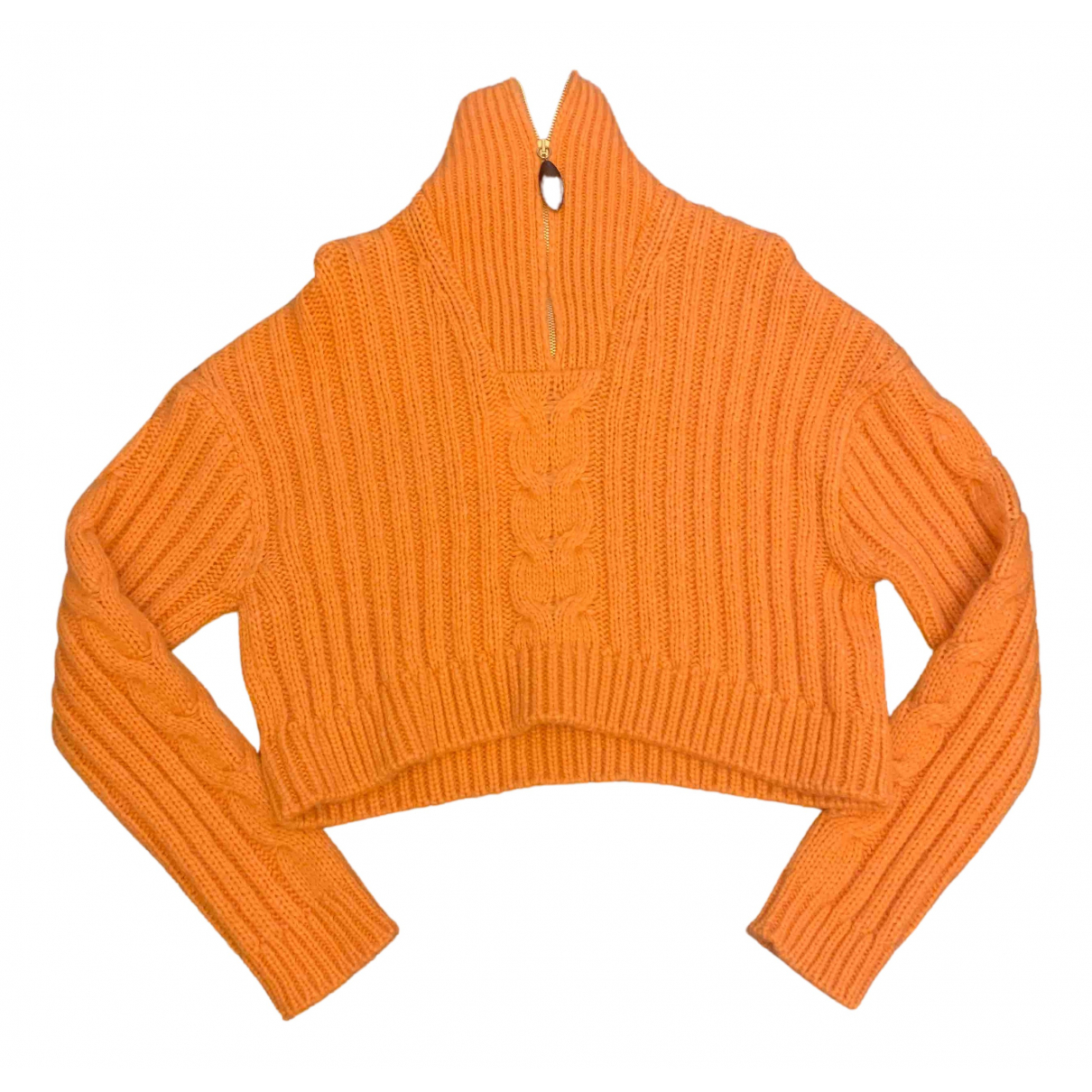 Nanushka \N Pullover in  Orange Wolle