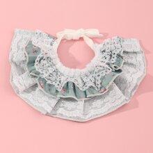 Multilayer Lace Cat Collar