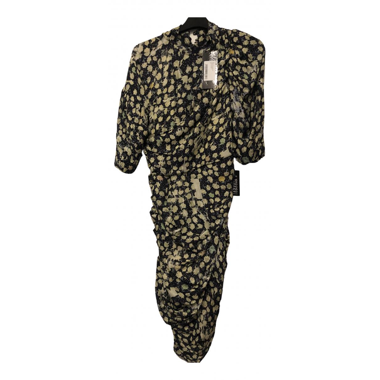 Preen By Thornton Bregazzi \N Kleid in  Bunt Seide