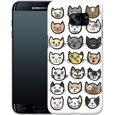 Samsung Galaxy S7 Edge Smartphone Huelle - 28 Cats von caseable Designs