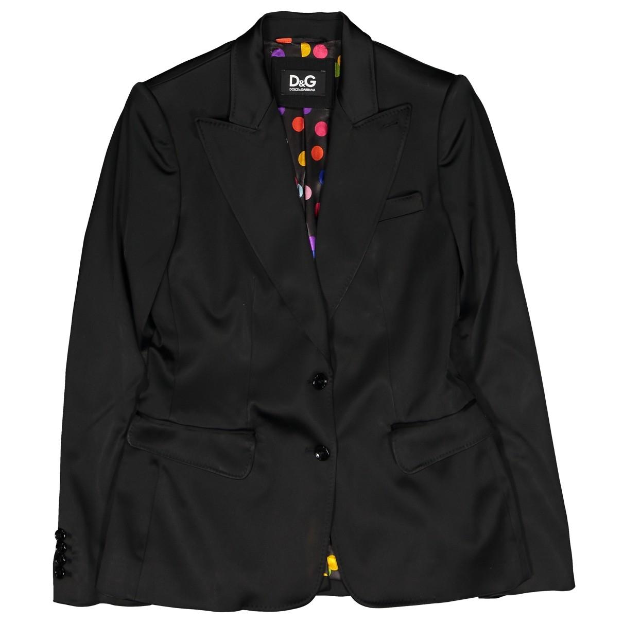 Dolce & Gabbana \N Black jacket for Women 44 IT