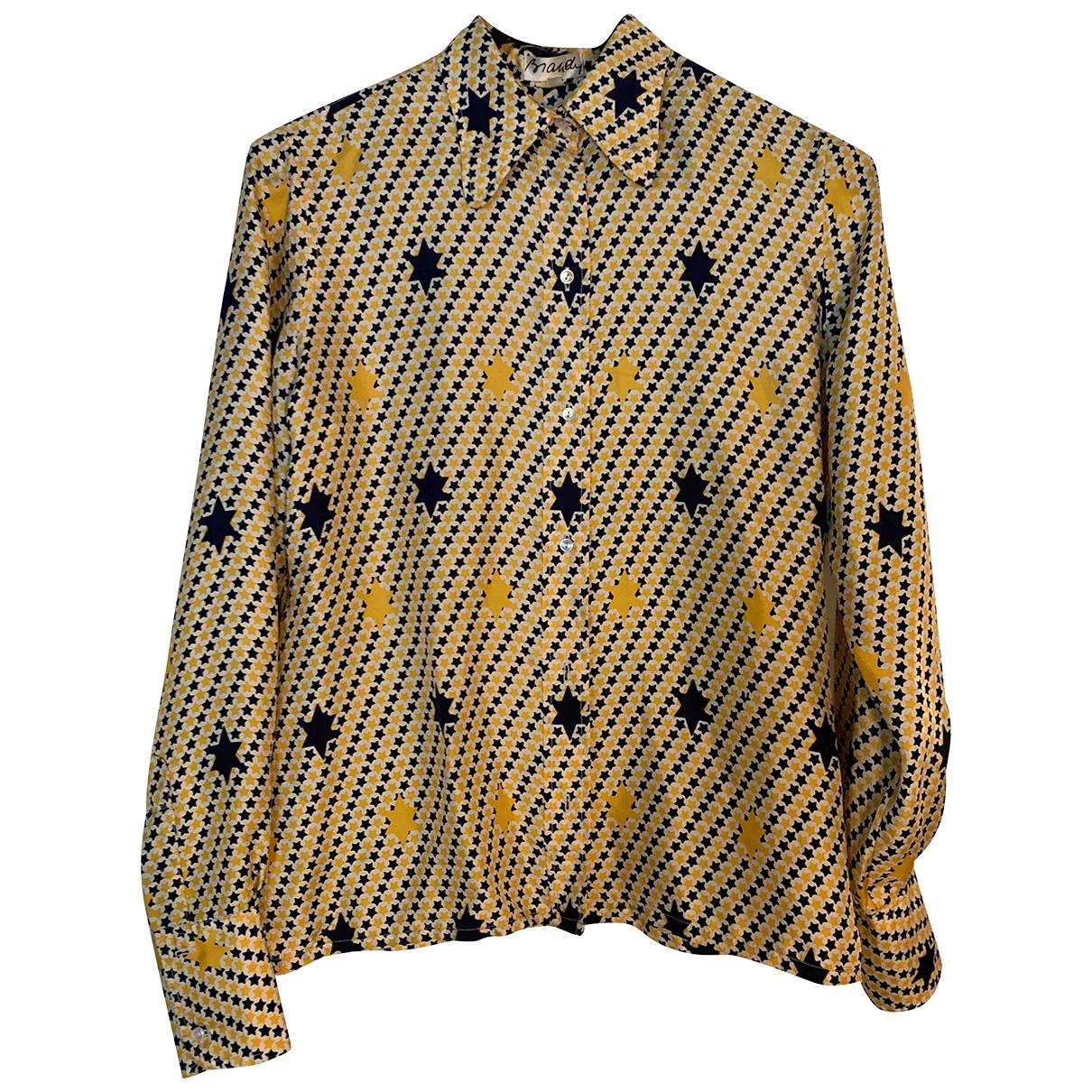 Non Signé / Unsigned \N Multicolour Silk  top for Women 40 FR