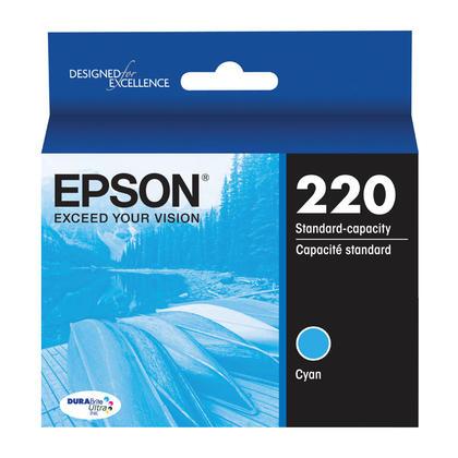 Epson T220220 Original Cyan Ink Cartridge