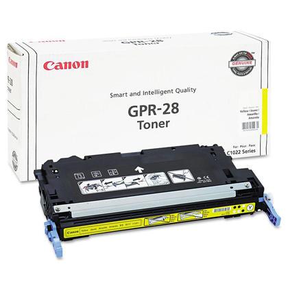 Canon GPR-28Y 1657B004AA Original Yellow Toner Cartridge