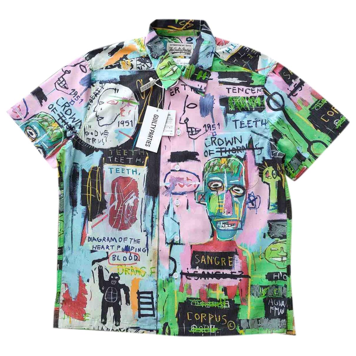 Wacko Maria \N Green Cotton Shirts for Men L International
