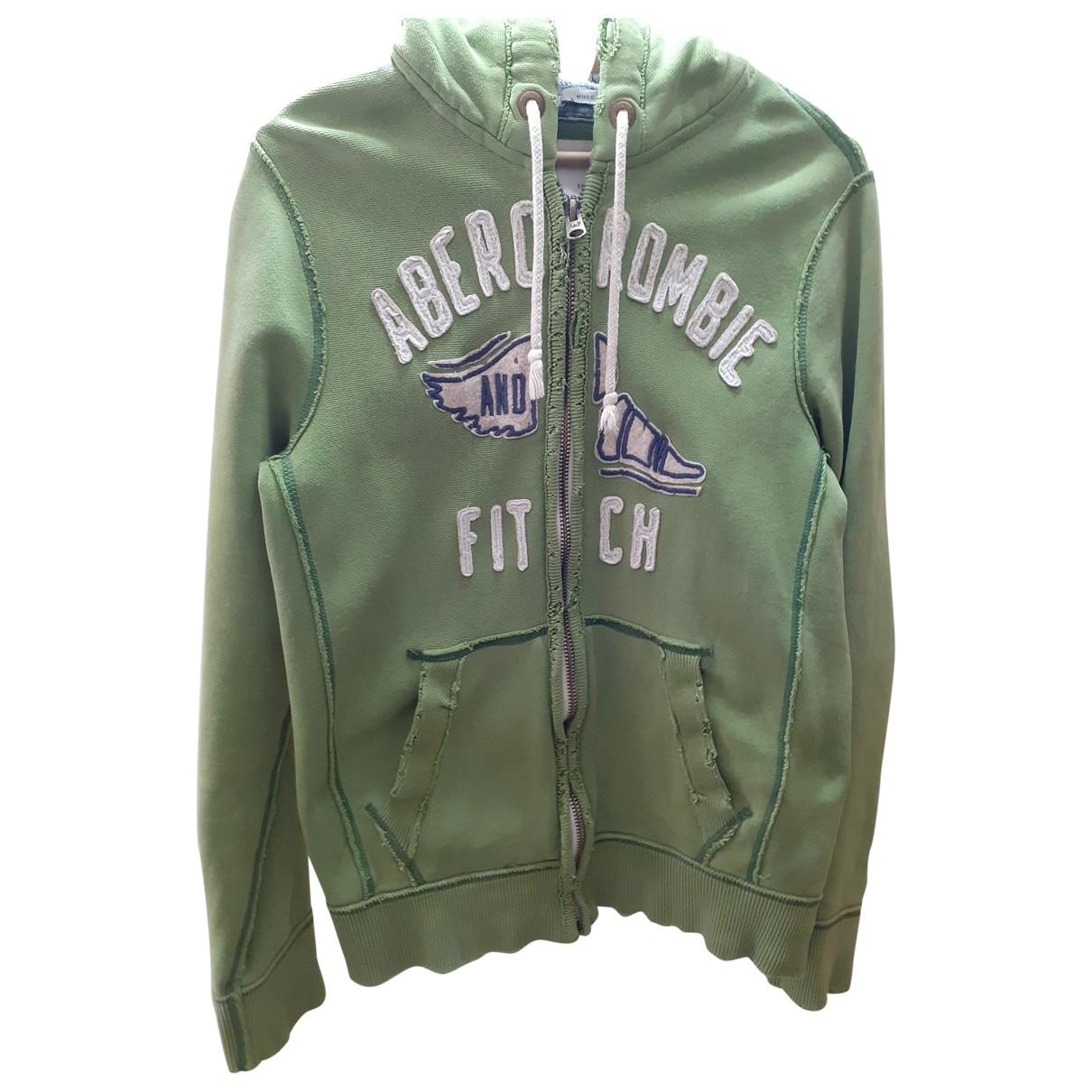 Abercrombie & Fitch \N Green Cotton Knitwear & Sweatshirts for Men S International