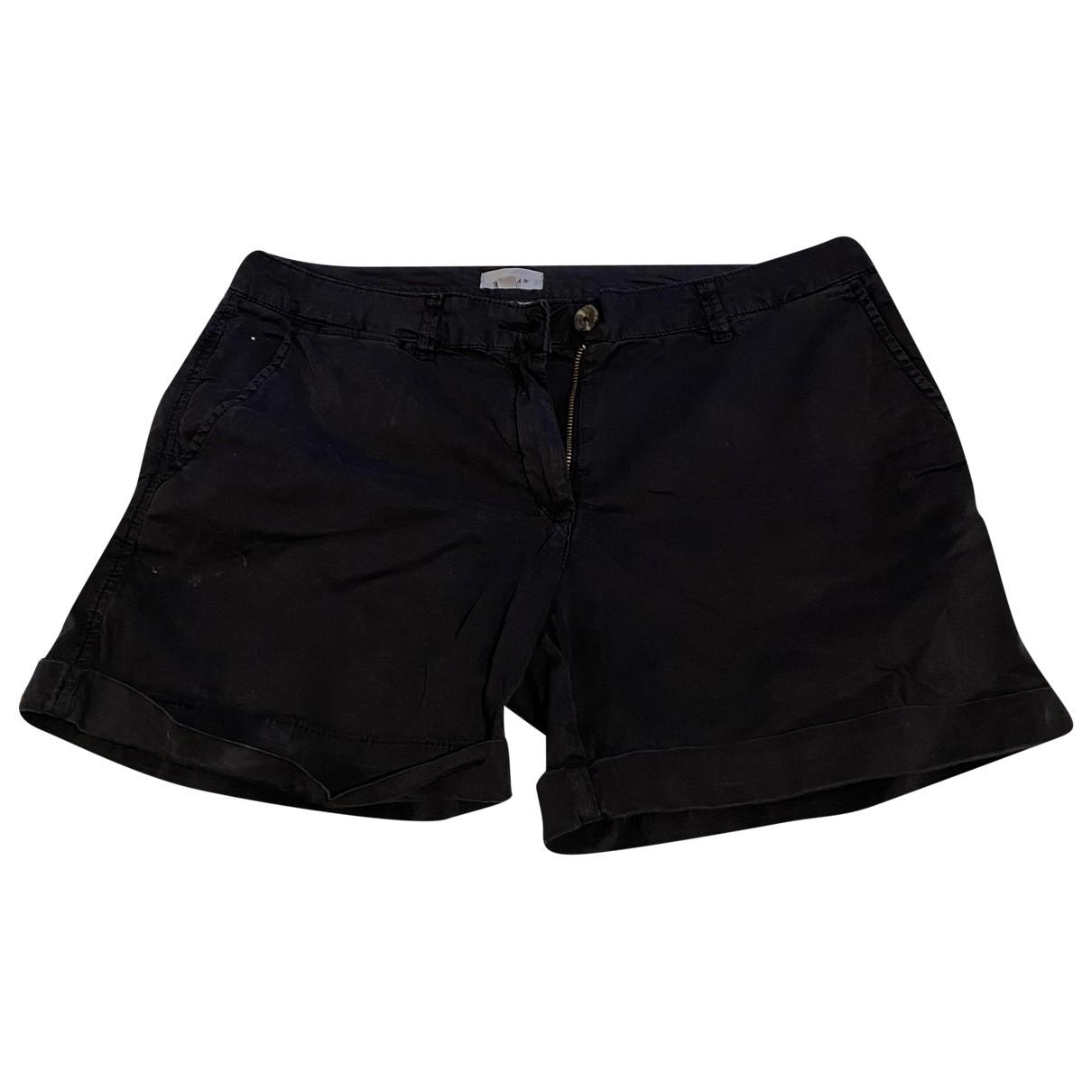 Jigsaw N Blue Cotton Shorts for Women 12 UK