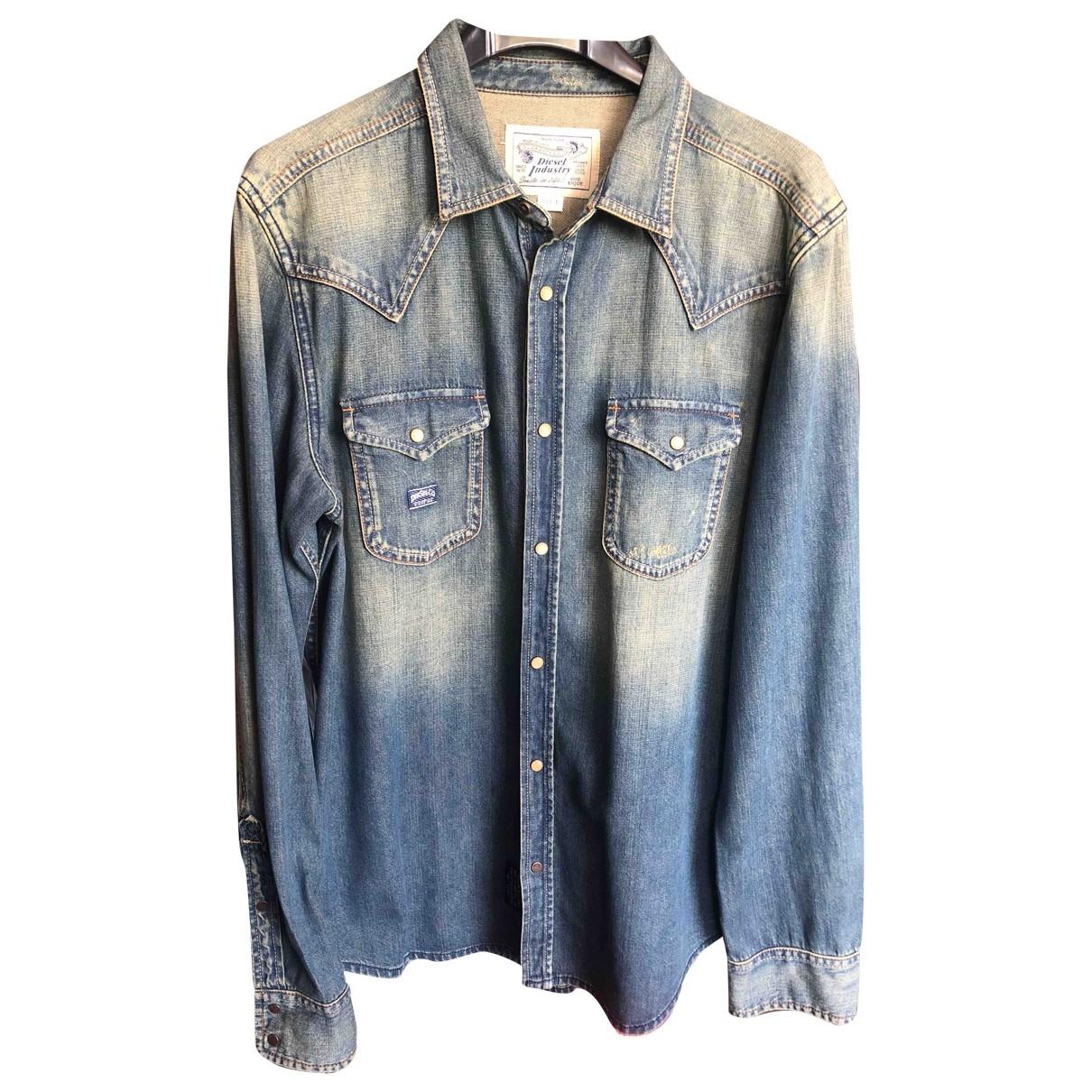 Diesel \N Blue Denim - Jeans  top for Women L International