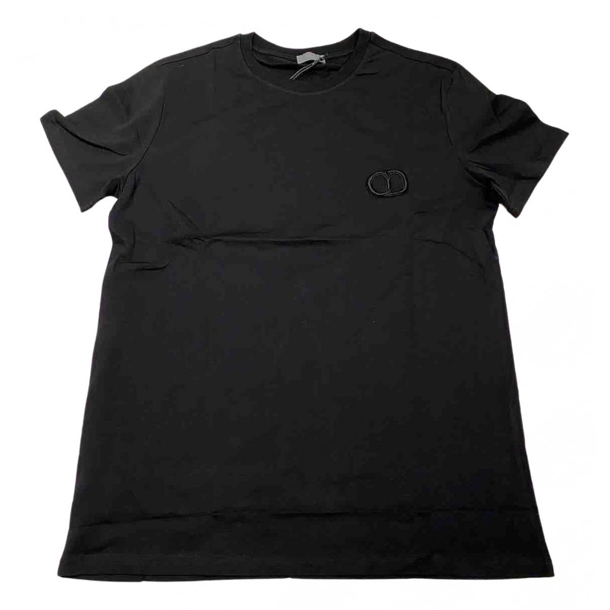 Dior Homme \N Black Cotton T-shirts for Men M International