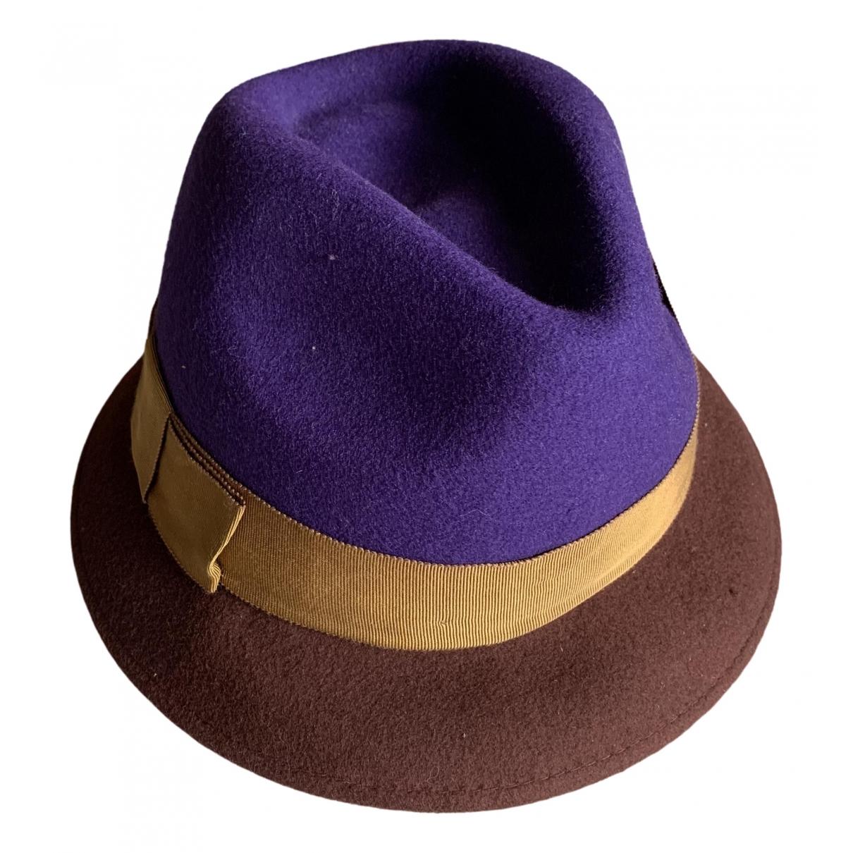 Bimba Y Lola \N Purple Wool hat for Women S International