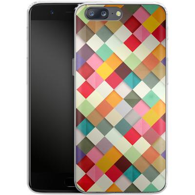 OnePlus 5 Silikon Handyhuelle - Pass This On von Danny Ivan