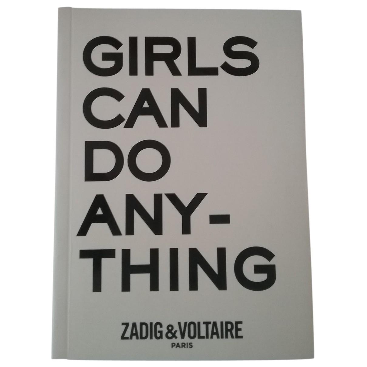 Zadig & Voltaire - Objets & Deco   pour lifestyle en autre - blanc