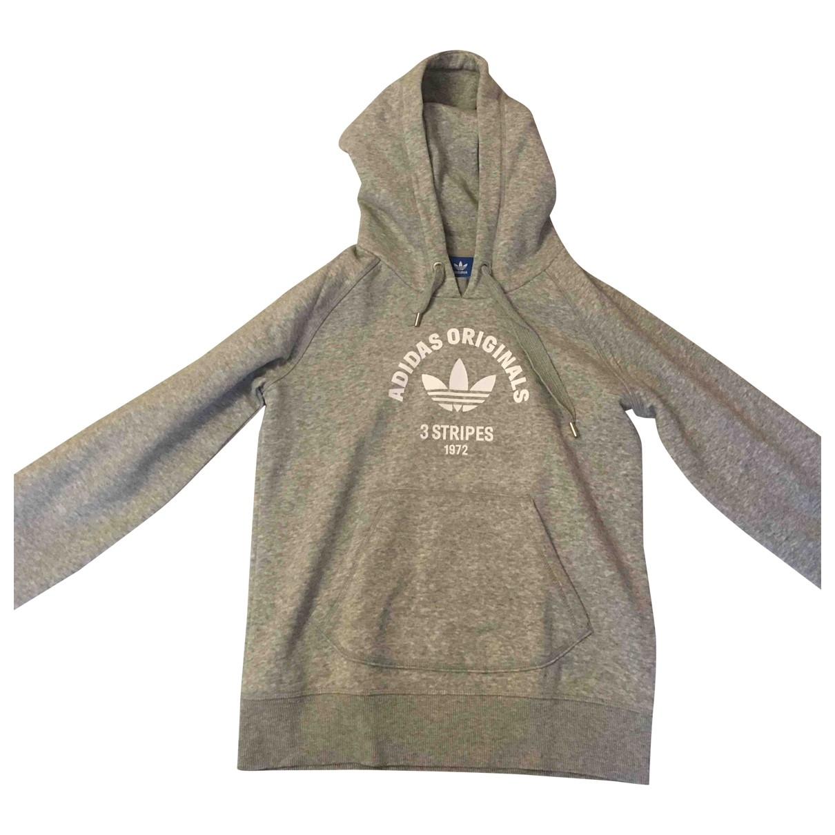 Adidas \N Top in  Grau Baumwolle