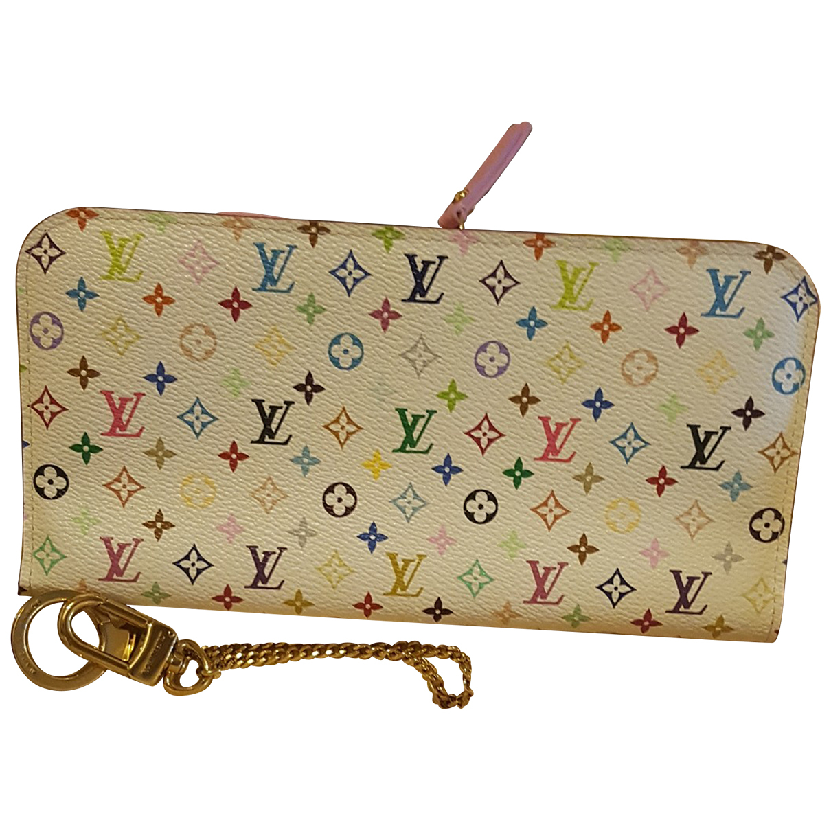 Louis Vuitton Insolite White Cloth wallet for Women N