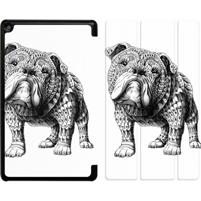 Amazon Fire HD 8 (2018) Tablet Smart Case - English Bulldog von BIOWORKZ