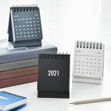 1 Stueck Mini zufaelliger Schreibtischkalender