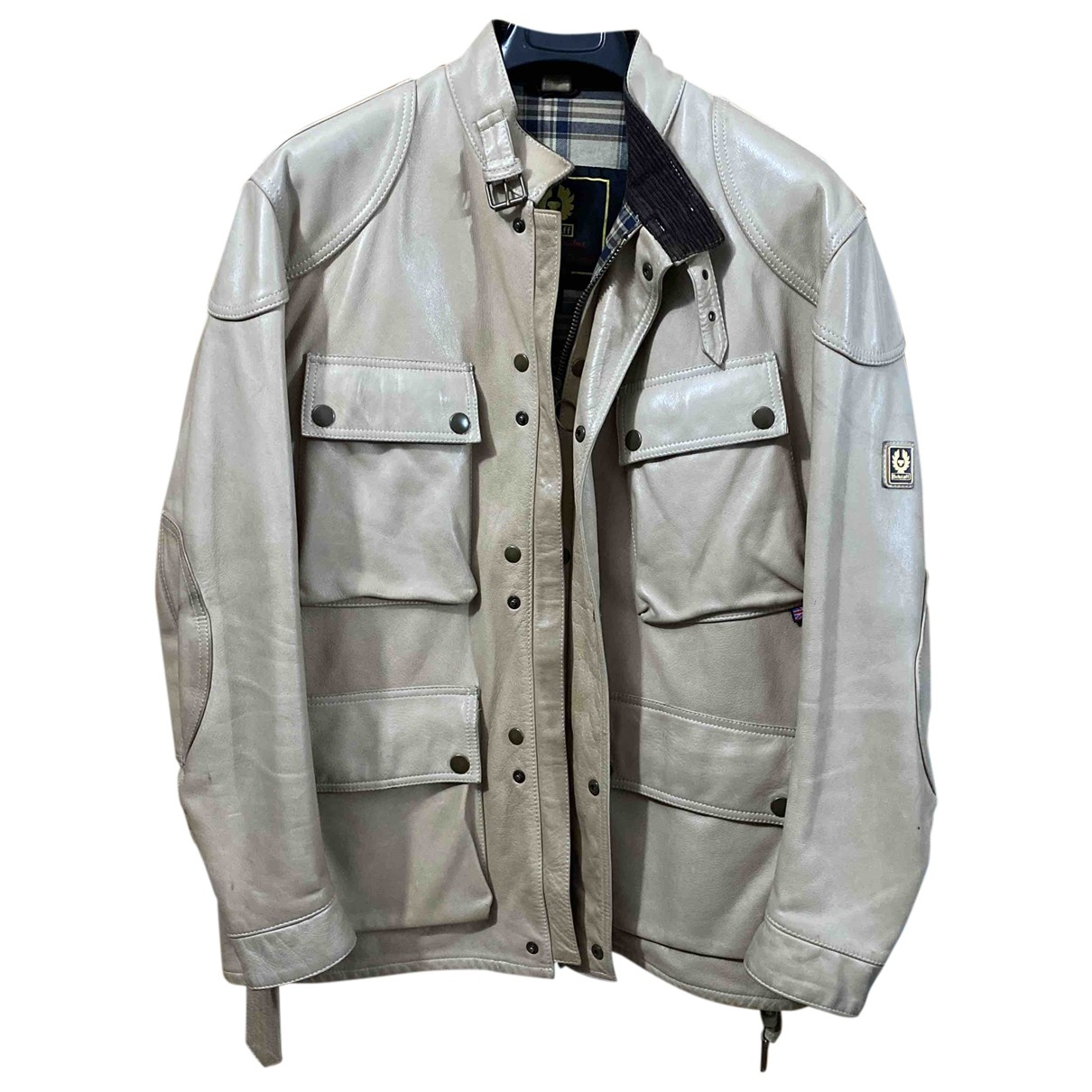 Belstaff \N Leather jacket  for Men L International