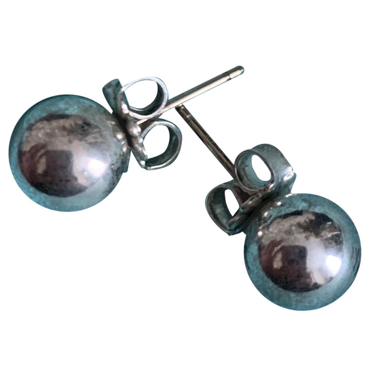 Tiffany & Co N Silver Silver Earrings for Women N