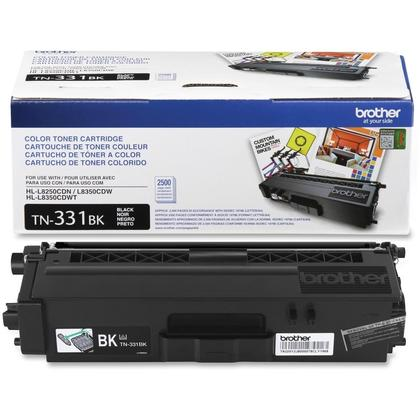 Brother TN331BK Original Black Toner Cartridge