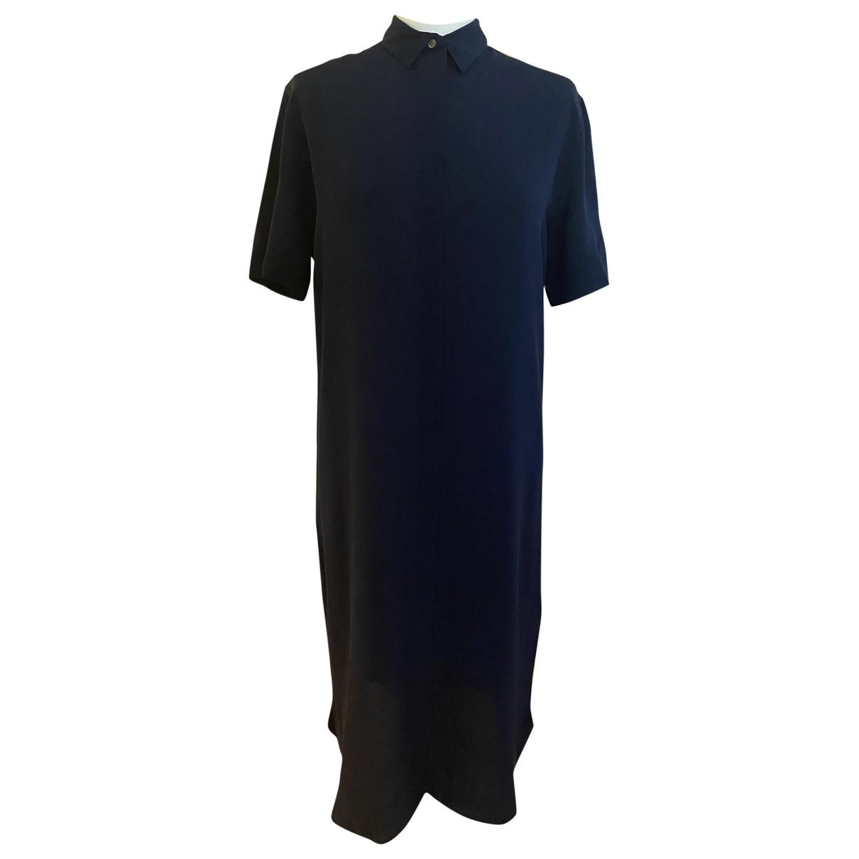 Paul Smith \N Navy Silk dress for Women 42 IT