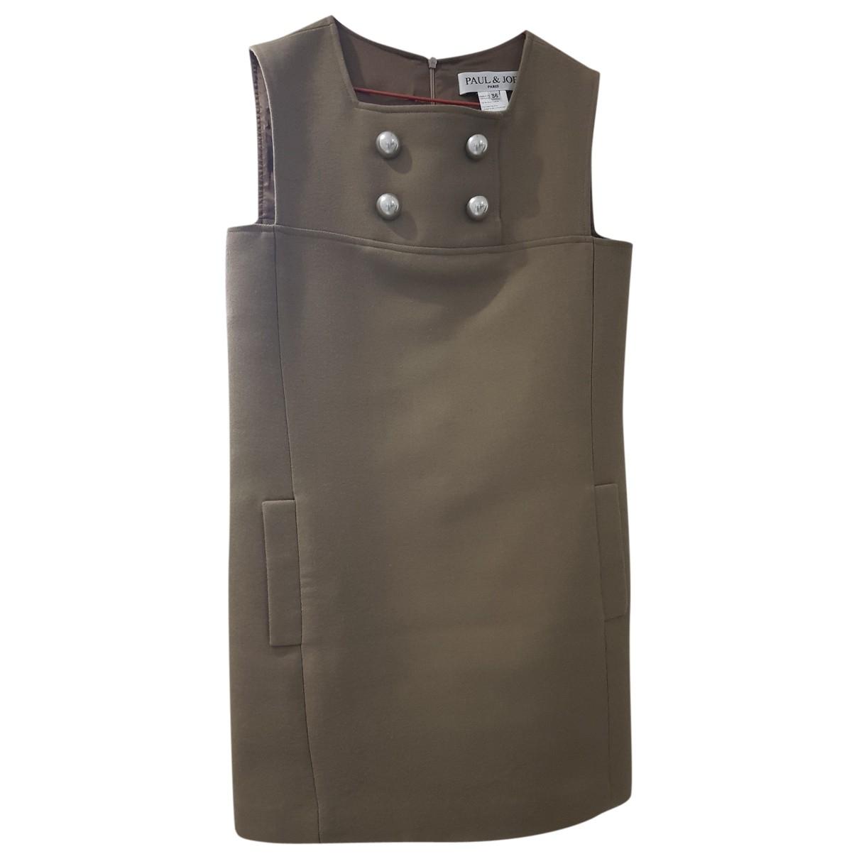 Paul & Joe \N Brown Wool dress for Women 36 FR
