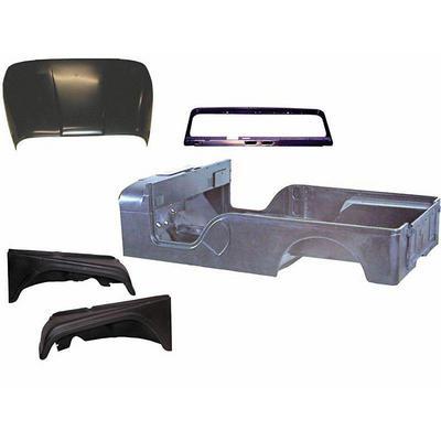 Omix-ADA Steel Body Tub Kit - 12001.14