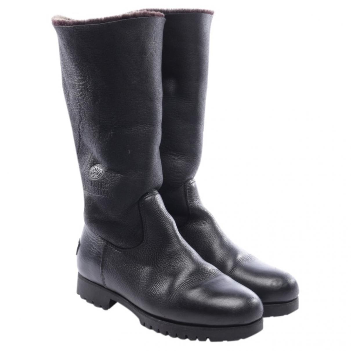 Botas de Cuero Shabbies