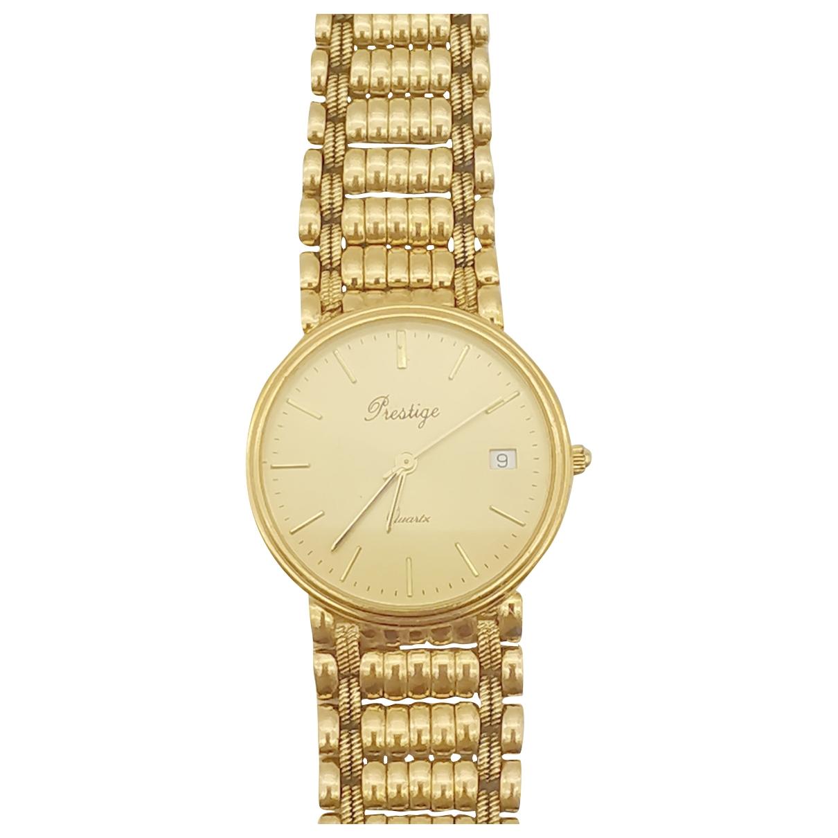 Prestige \N Uhr in  Gold Gelbgold