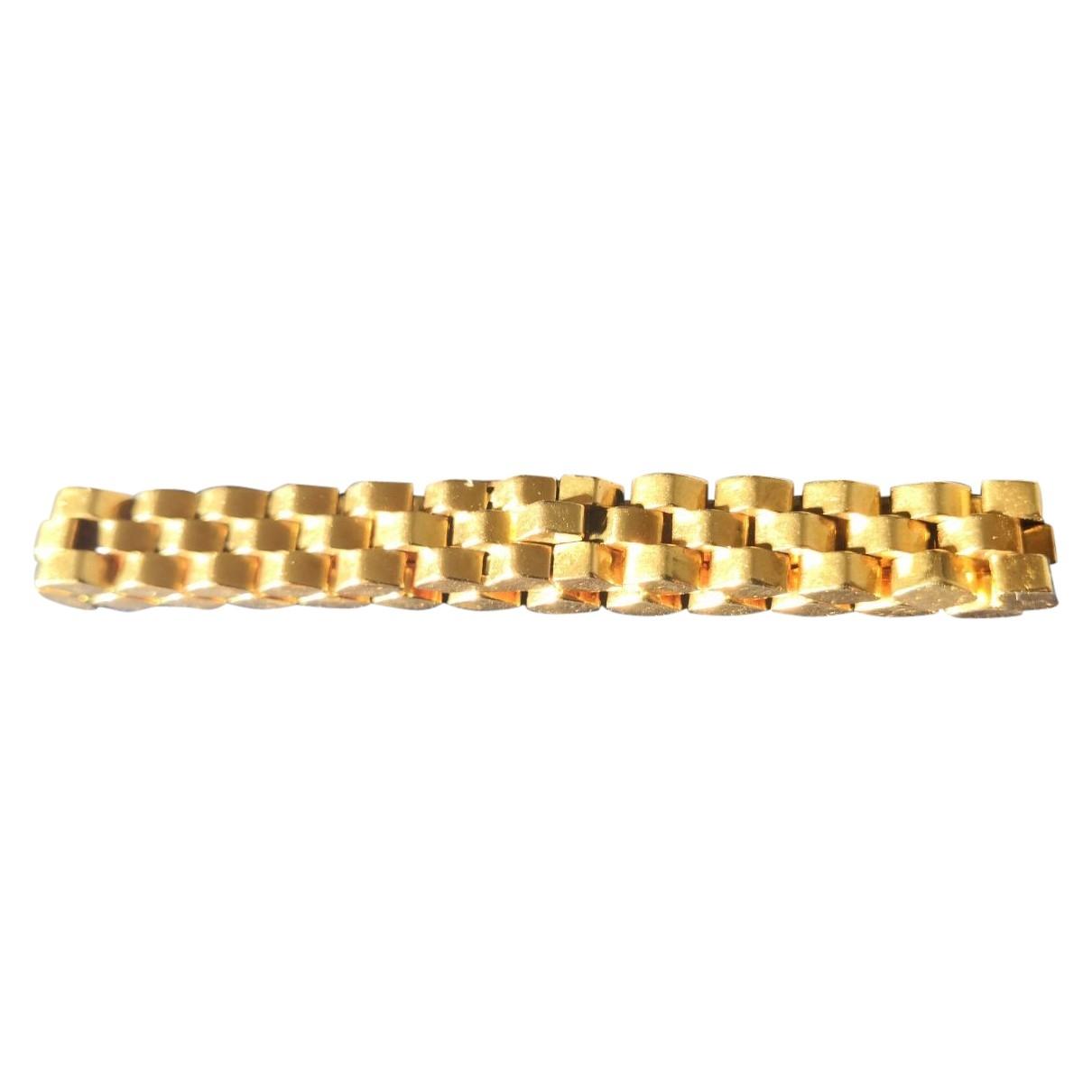Dior - Bracelet   pour femme en or jaune - dore
