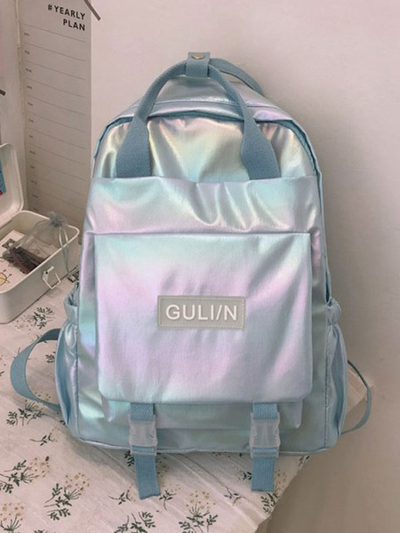 Milanoo Sweet Lolita Bag Pink Backpack Synthetic Polyester Lolita Accessories Candy Backpack