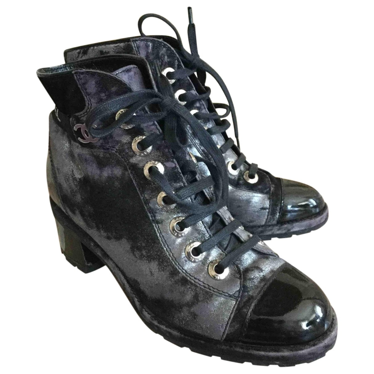 Chanel \N Multicolour Leather Ankle boots for Women 38 EU