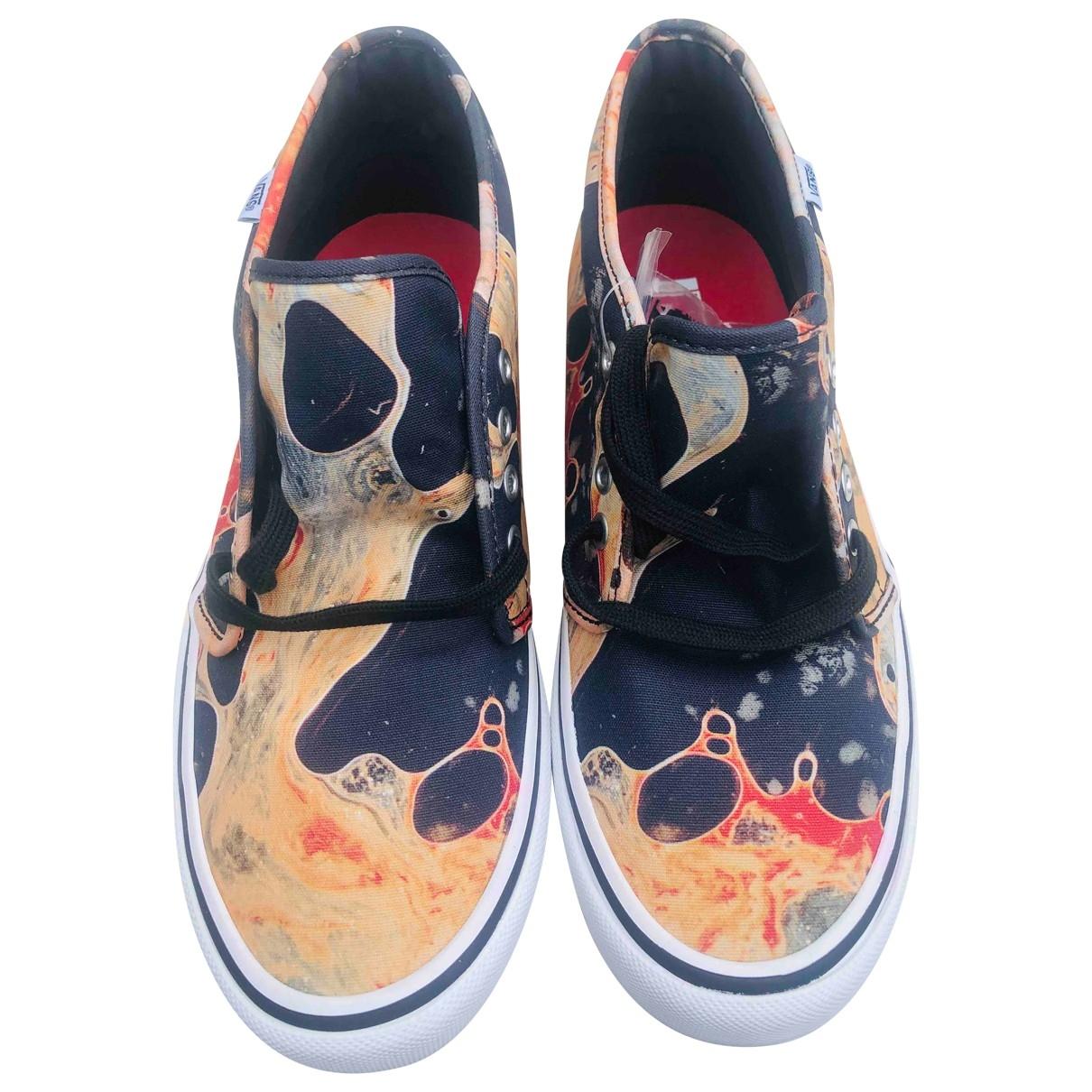 Vans X Supreme \N Sneakers in  Bunt Leinen