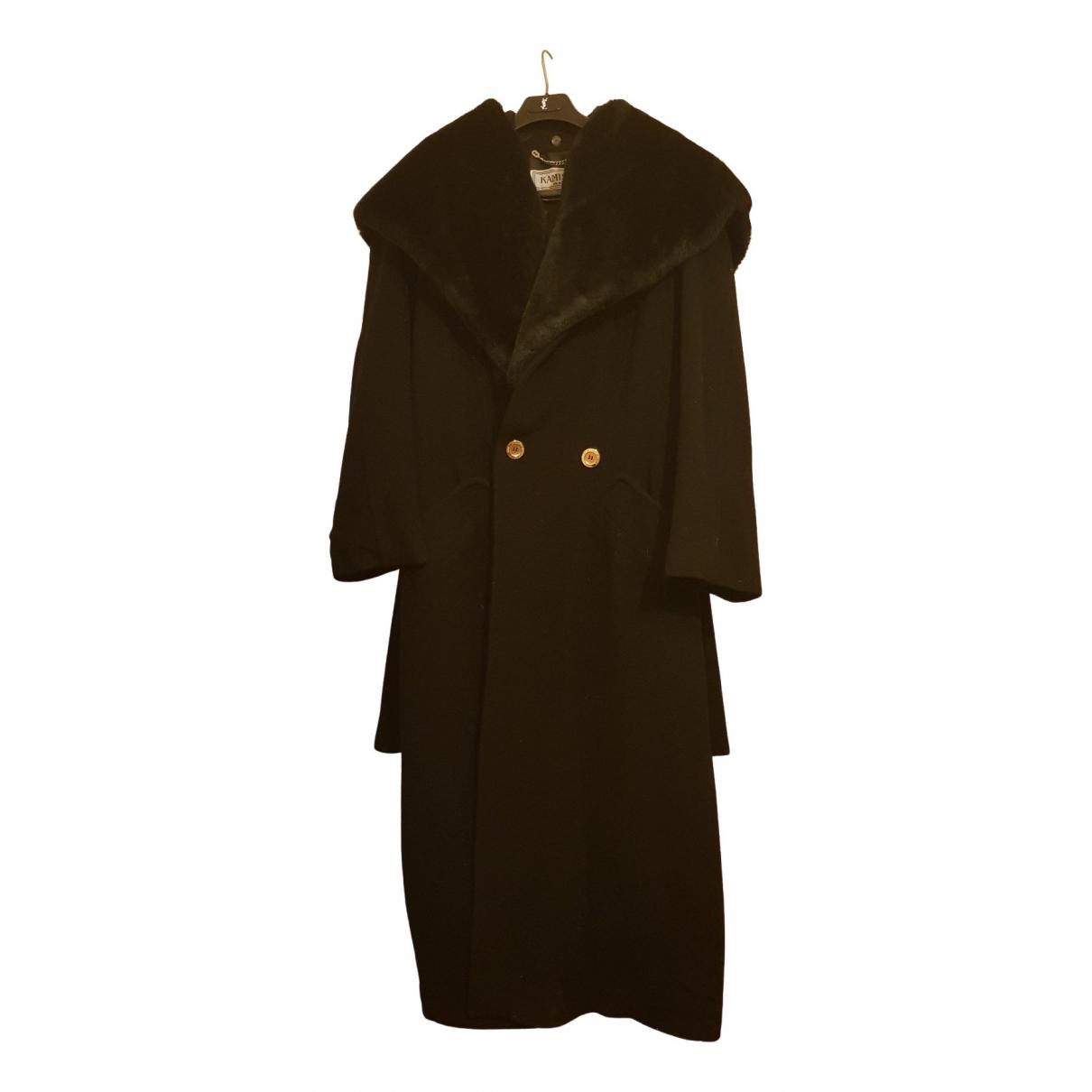 - Manteau   pour femme en cachemire - noir
