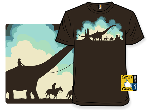 When Cowboys Roamed The Earth T Shirt