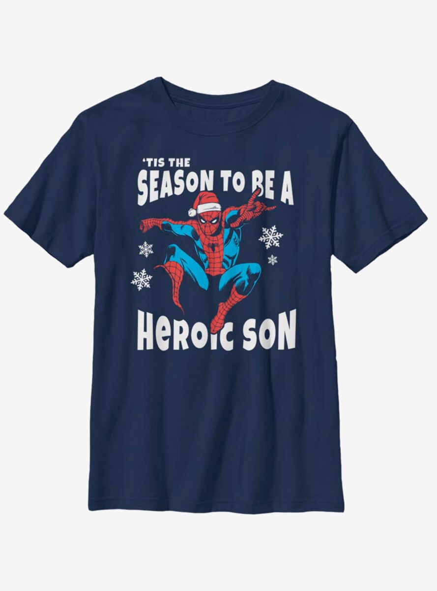 Marvel Spider-Man Heroic Son Youth T-Shirt